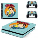Drinks pop art decal skin sticker for PS4 console and controllers