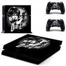 Dead eyre decal skin sticker for PS4 console and controllers