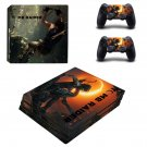 Shadow of the tomb raider decal skin sticker for PS4 Pro console and controllers