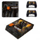 Call of Duty Black ops 4 decal skin sticker for PS4 Pro console and controllers