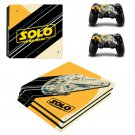 Solo A Star Wars Story decal skin sticker for PS4 Pro console and controllers
