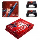 The amazing Spider Man decal skin sticker for PS4 Pro console and controllers