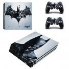 Batman decal skin sticker for PS4 Pro console and controllers