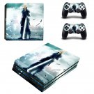 Final Fantasy 7 decal skin sticker for PS4 Pro console and controllers