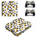 Traingle wallpaper decal skin sticker for PS4 Pro console and controllers