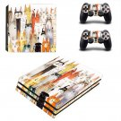 Cat face decal skin sticker for PS4 Pro console and controllers