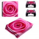 Nice Rose decal skin sticker for PS4 Pro console and controllers
