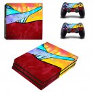 Ride the rainbows decal skin sticker for PS4 Pro console and controllers