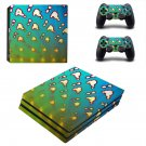 Clipart decal skin sticker for PS4 Pro console and controllers