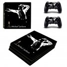 Michael Jackson decal skin sticker for PS4 Pro console and controllers