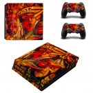 Ortega maila decal skin sticker for PS4 Pro console and controllers