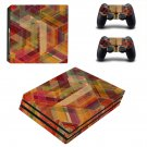 Tech wallpaper decal skin sticker for PS4 Pro console and controllers