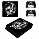 Dead eyre decal skin sticker for PS4 Pro console and controllers