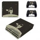 Astronaut Clipart decal skin sticker for PS4 Pro console and controllers