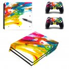 Painted Picture decal skin sticker for PS4 Pro console and controllers
