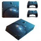 Galaxy Planet decal skin sticker for PS4 Pro console and controllers