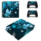 Butterflies decal skin sticker for PS4 Pro console and controllers