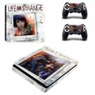 Life is Strange 2 decal skin sticker for PS4 Slim console and controllers
