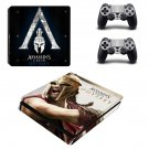 Assassins Creed Odyssey decal skin sticker for PS4 Slim console and controllers