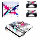 FIFA 2019 decal skin sticker for PS4 Slim console and controllers