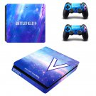 Battlefield 5 decal skin sticker for PS4 Slim console and controllers