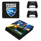 Rocket League decal skin sticker for PS4 Slim console and controllers