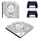 Yakuza decal skin sticker for PS4 Slim console and controllers