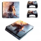 Battlefield decal skin sticker for PS4 Slim console and controllers