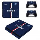 Fly Emirates decal skin sticker for PS4 Slim console and controllers