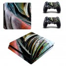 Agave Plants decal skin sticker for PS4 Slim console and controllers