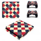 Floor Tiles decal skin sticker for PS4 Slim console and controllers