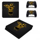 Mona Lisa decal skin sticker for PS4 Slim console and controllers