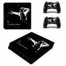 Michael Jackson decal skin sticker for PS4 Slim console and controllers