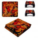 Ortega maila decal skin sticker for PS4 Slim console and controllers