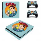 Drinks pop art decal skin sticker for PS4 Slim console and controllers