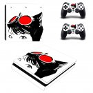 Cat Woman decal skin sticker for PS4 Slim console and controllers