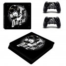 Dead eyre decal skin sticker for PS4 Slim console and controllers