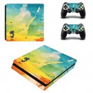 Rocket Clipart decal skin sticker for PS4 Slim console and controllers