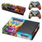 Spyro reignited trilogy decal skin sticker for Xbox One console and controllers