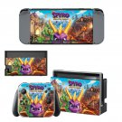 Spyro reignited trilogy decal skin sticker for Nintendo Switch console and controllers