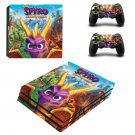 Spyro reignited trilogy decal skin sticker for PS4 Pro console and controllers