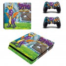 Spyro reignited trilogy decal skin sticker for PS4 Slim console and controllers