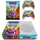 Spyro reignited trilogy decal skin sticker for Xbox One S console and controllers