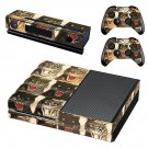 Tigers face decal skin sticker for Xbox One console and controllers