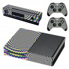 Abstraction decal skin sticker for Xbox One console and controllers