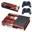 Cartoon decal skin sticker for Xbox One console and controllers
