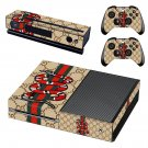 Snake anime decal skin sticker for Xbox One console and controllers