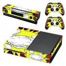 Abstract Retro Burst decal skin sticker for Xbox One console and controllers