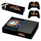 Street Fighter decal skin sticker for Xbox One console and controllers