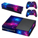 Space Scene decal skin sticker for Xbox One console and controllers